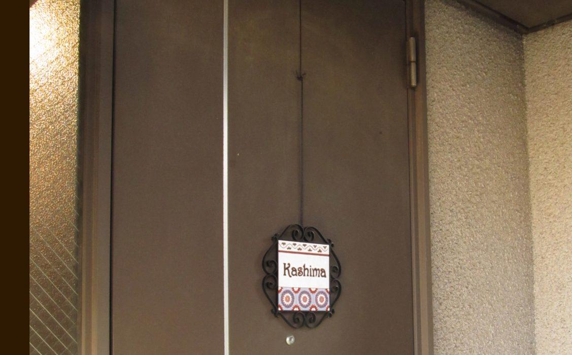 ドア取り付け